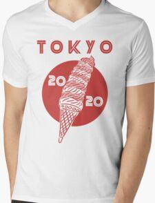 Tokyo Olympics 2020 Mens V-Neck T-Shirt