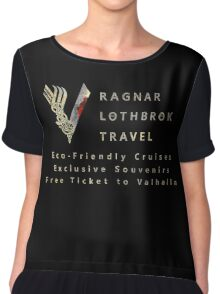 Ragnar Lothbrok Travel Chiffon Top