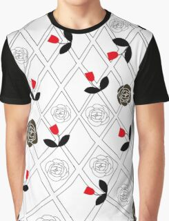 Little red flowers Graphic T-Shirt