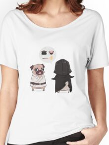 Pug Wars Women's Relaxed Fit T-Shirt