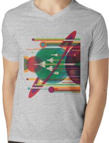 Grand Tour Mens V-Neck T-Shirt