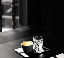 Cup of Coffee, Glass of Water by the-novice