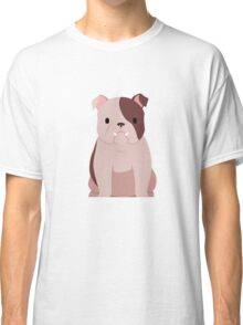 Bull dog in brown and white Classic T-Shirt