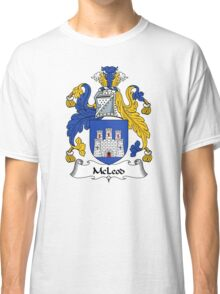 McLeod Coat of Arms / McLeod Family Crest Classic T-Shirt