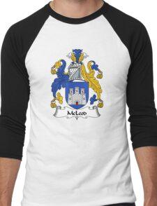 McLeod Coat of Arms / McLeod Family Crest Men's Baseball ¾ T-Shirt