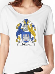 McLeod Coat of Arms / McLeod Family Crest Women's Relaxed Fit T-Shirt