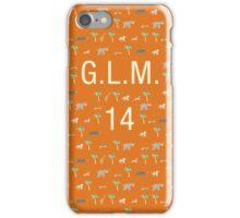Pattern GLM 14 Darjeeling Limited & Hotel Chevalier iPhone Case/Skin
