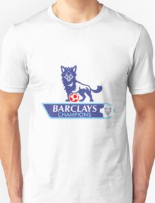 Leicester City Premier League Champions 2 Unisex T-Shirt