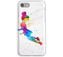 Tinkerbell, watercolor iPhone Case/Skin