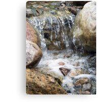 Serene Waterfall Canvas Print