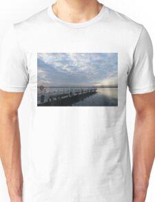 Morning Jetty - A Luminous Daybreak On The Waterfront Unisex T-Shirt