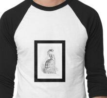 Insect Wearing Ball Gown - Anthropomorphic Art by J J Grandville Men's Baseball ¾ T-Shirt
