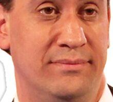 "Ed Miliband ""o rlly"" sticker  Sticker"