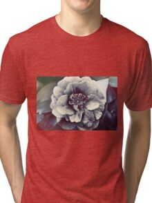 In the face of the Flower Tri-blend T-Shirt