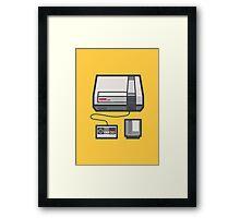 Retro Memories v2 Framed Print