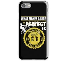 Beer lovers and riding bike! iPhone Case/Skin