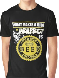 Beer lovers and riding bike! Graphic T-Shirt