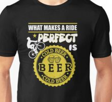 Beer lovers and riding bike! Unisex T-Shirt