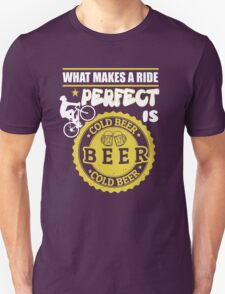 Beer lovers and riding bike! T-Shirt