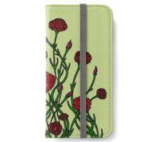 Carnation Tarnation iPhone Wallet/Case/Skin