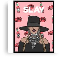 I Slay All Day Canvas Print