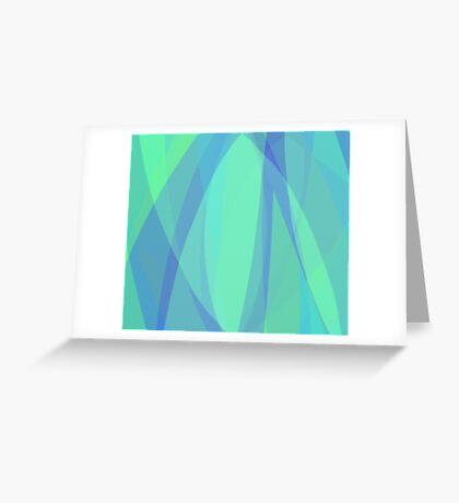 Sea Green Greeting Card