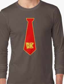donkey kong neck tie Long Sleeve T-Shirt