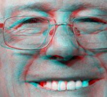 3d Bernie Sanders Head Sticker