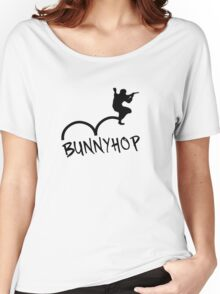 "CS:GO Bhop Print ""BUNNYHOP"" Women's Relaxed Fit T-Shirt"