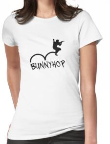 "CS:GO Bhop Print ""BUNNYHOP"" Womens Fitted T-Shirt"