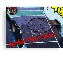 Basketball - Streetball Canvas Print