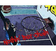Basketball - Streetball Photographic Print