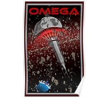 Mass Effect Omega Travel Poster Fan Art Poster