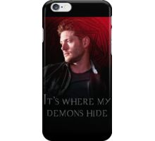 It's Where My Demons Hide  iPhone Case/Skin