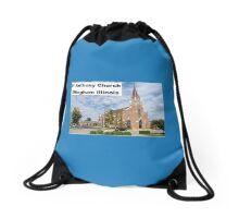 St Anthony Church Drawstring Bag