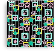 Creative design for children and teenagers. Canvas Print