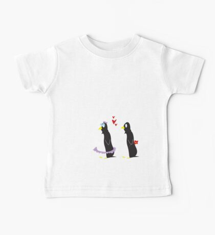 Love Is On The Ice Baby Tee