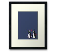 Love Is On The Ice Framed Print