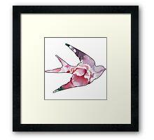 Flower Bird Framed Print