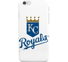 kansas city royals iPhone Case/Skin