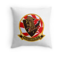 VS-21 Fighting Red Tails Throw Pillow