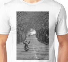 A viking on the road Unisex T-Shirt