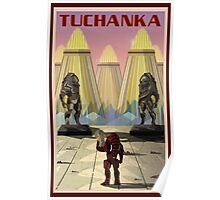 Mass Effect Tuchanka Travel Poster Fan Art Poster