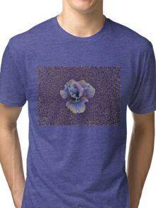 Iris Drawing Meditation Tri-blend T-Shirt