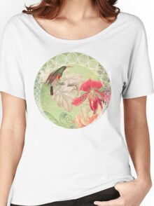 Garden Song Collage Women's Relaxed Fit T-Shirt
