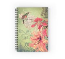 Garden Song Collage Spiral Notebook