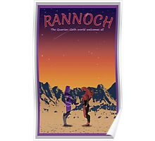Mass Effect Rannoch Travel Poster Fan Art Poster