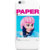 kylie jenner poster iPhone Case/Skin