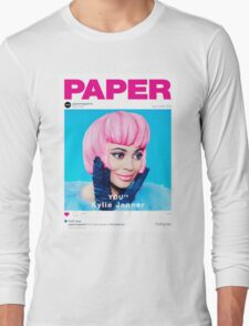 kylie jenner poster Long Sleeve T-Shirt
