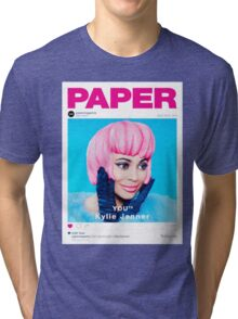 kylie jenner poster Tri-blend T-Shirt